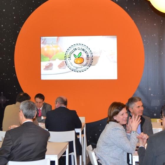 La Diputación concluye su participación en Fruit Logistica