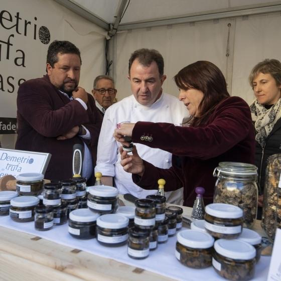 Diputación y Martín Berasategui promocionan la trufa negra de la provincia de Castellón