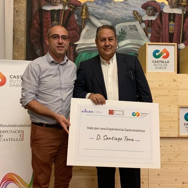 Santiago Tena, de Vilafranca, gana el I Concurso de Recetas Gastronómicas Castelló Ruta de Sabor