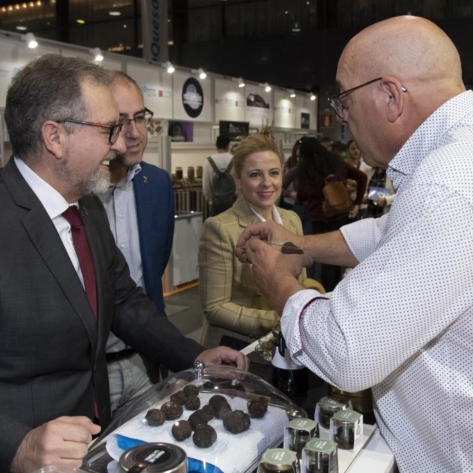 Martí enalteix en Gastrònoma la qualitat i innovació dels productes de Castelló Ruta del Sabor