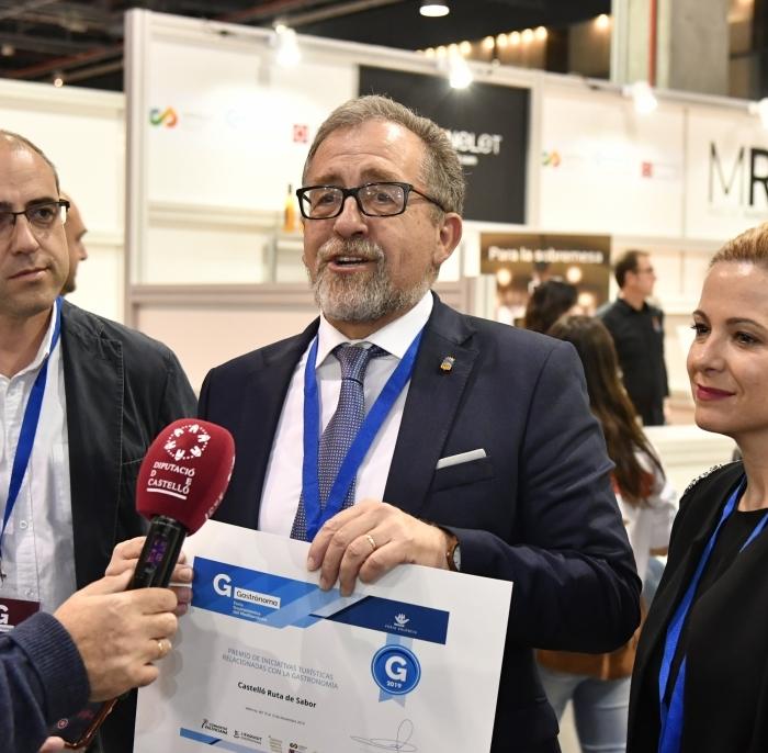 'Castelló Ruta de Sabor', millor iniciativa turística de 2019 a la Comunitat Valenciana