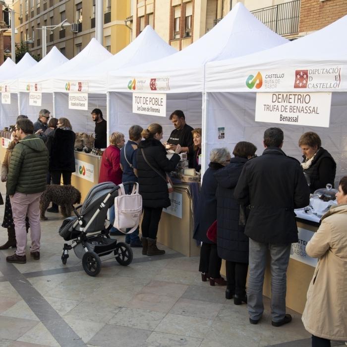 El Mercado de la Trufa vuelve a Castelló el sábado con los mejores productos gastronómicos de la provincia