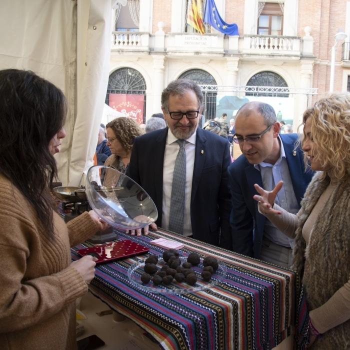 La 'Fira de Nadal' de la Diputación promocionará el consumo de productos 'Castelló Ruta de Sabor' para estas fiestas