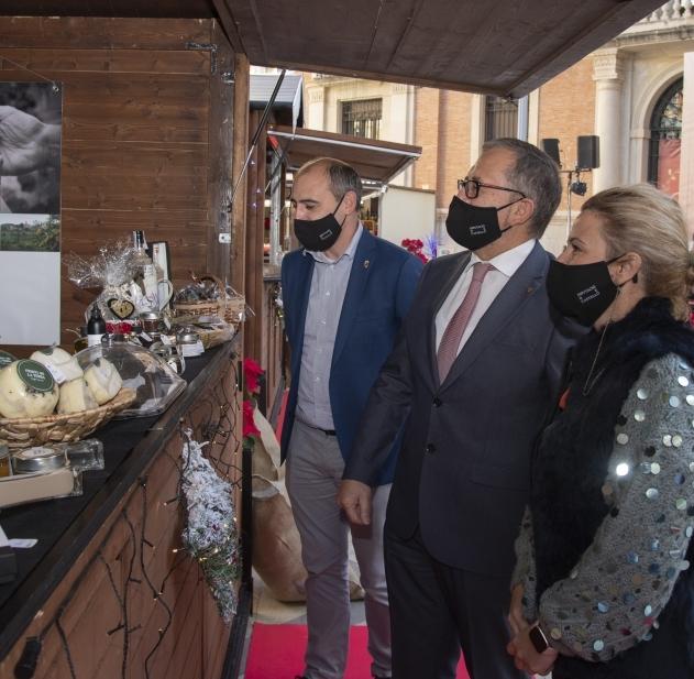 La Diputación llena desde hoy las Aulas de Castelló de productos gastronómicos locales para incentivar su consumo en Navidad
