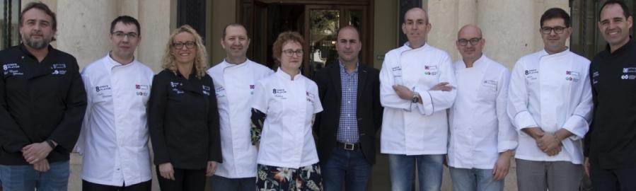 Castelló Ruta de Sabor en 8 chefs 8 platos