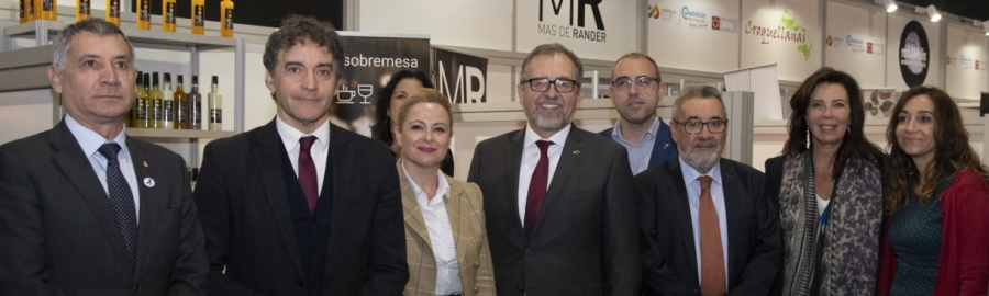 Martí ensalza en Gastrónoma la calidad e innovación de los productos de Castelló Ruta del Sabor